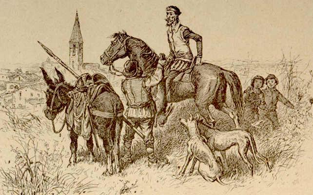 Cervantes y El Quijote en Soria