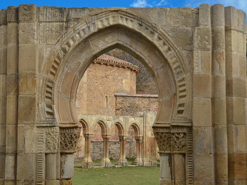 Los Arcos de San Juan de Duero en Soria
