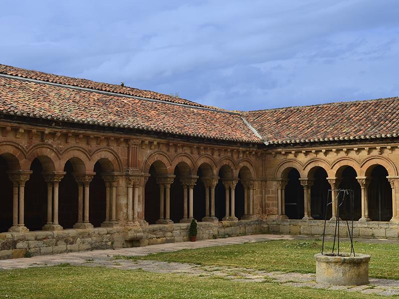 Vista general del Claustro de San Pedro