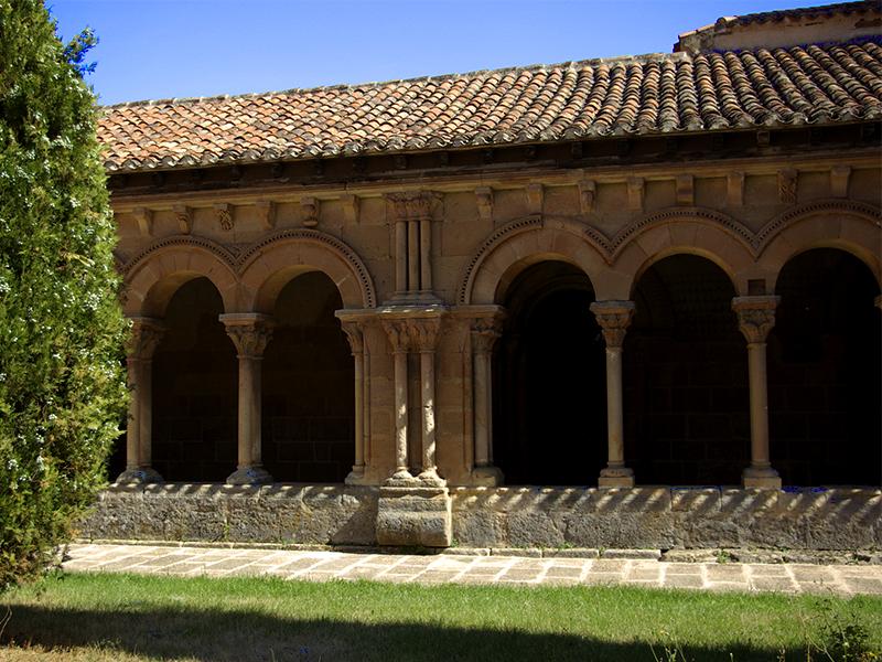 Arcos del claustro de la concatedral San Pedro