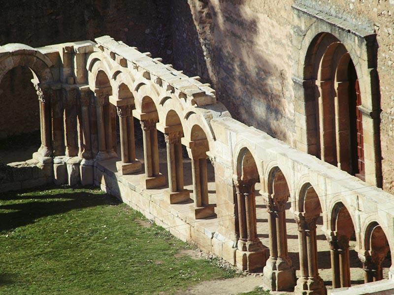 Vista aérea de los Arcos de San Juan de Duero
