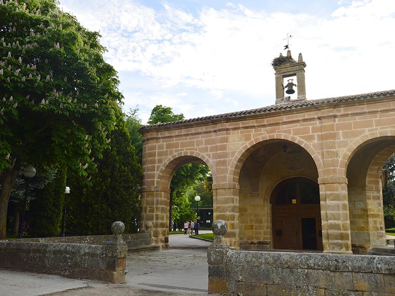 Entrada de la Ermita de la Soledad