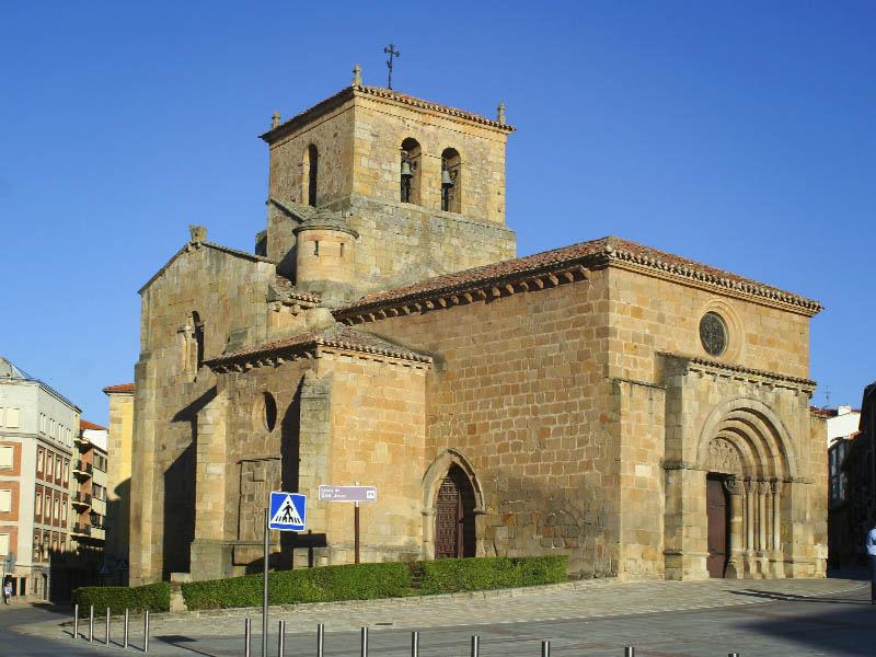 Exterior de la Iglesia de San Juan de Rabanera