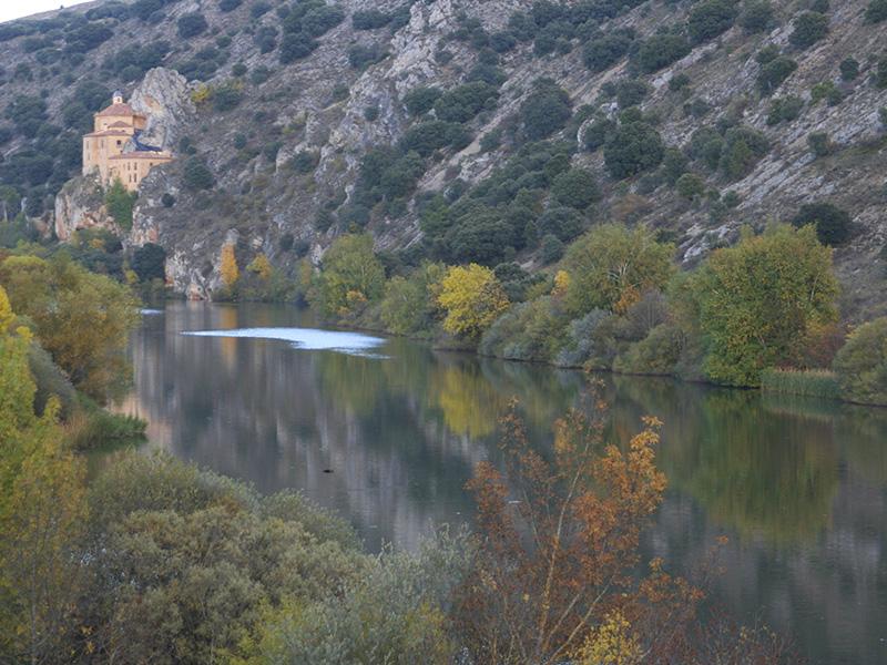 San Saturio en otoño