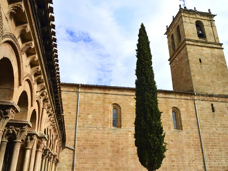 Torre de la Concatedral y Claustro de San Pedro visto desde este último