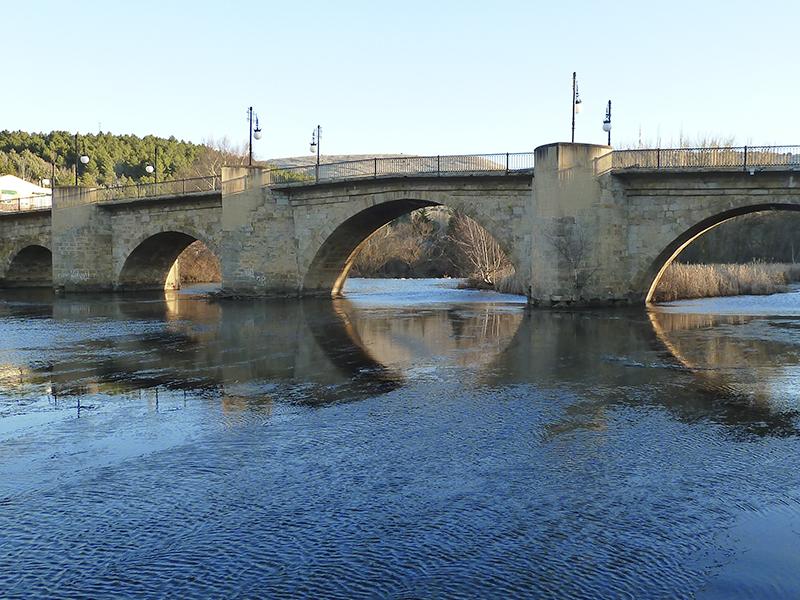 Puente medieval de Soria
