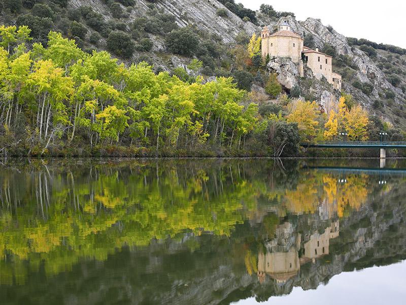 San Saturio desde San Prudencio