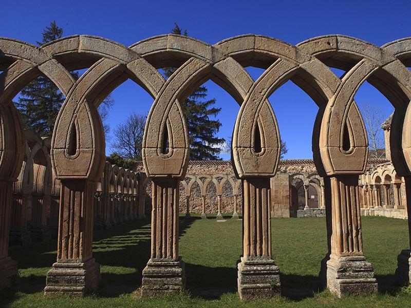 Arcos románico de medio punto