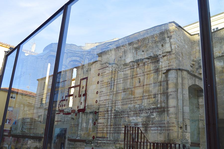Ruinas de la iglesia de san nicol s turismo soria for Oficina de turismo soria