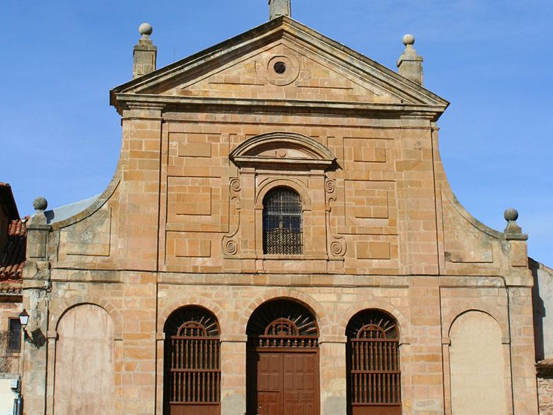 Fachada de la iglesia del Carmen