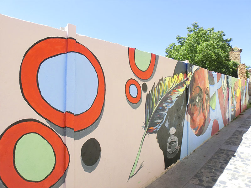 Mural conmemorativo de Santa Teresa