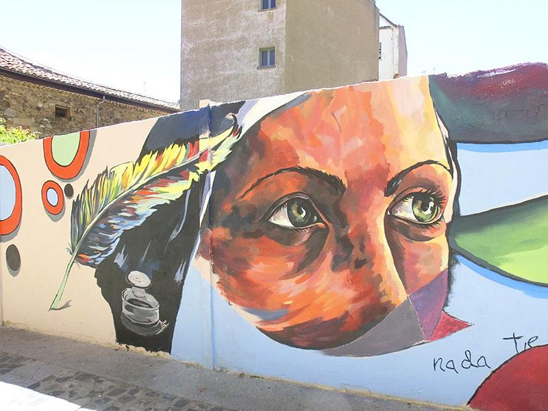 Mural conmemorativo Santa Teresa