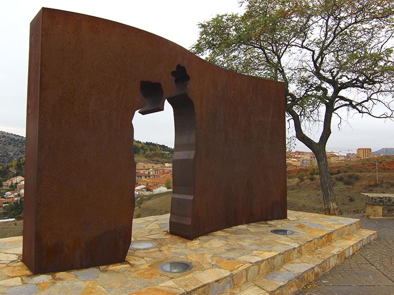 Escultura mirador Cuatro vientos