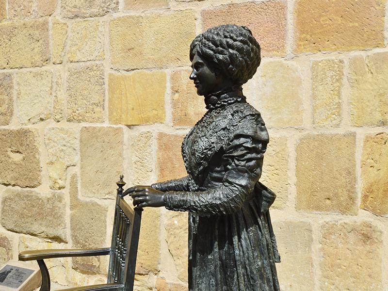 Escultura de Leonor