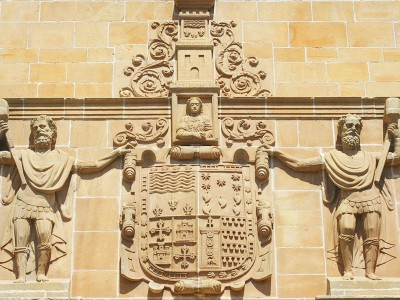 Escudo del Palacio de los Condes de Gómara