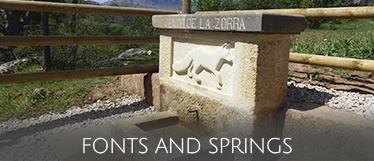 Qué manantiales y fuentes hay en Soria, monte Valonsadero