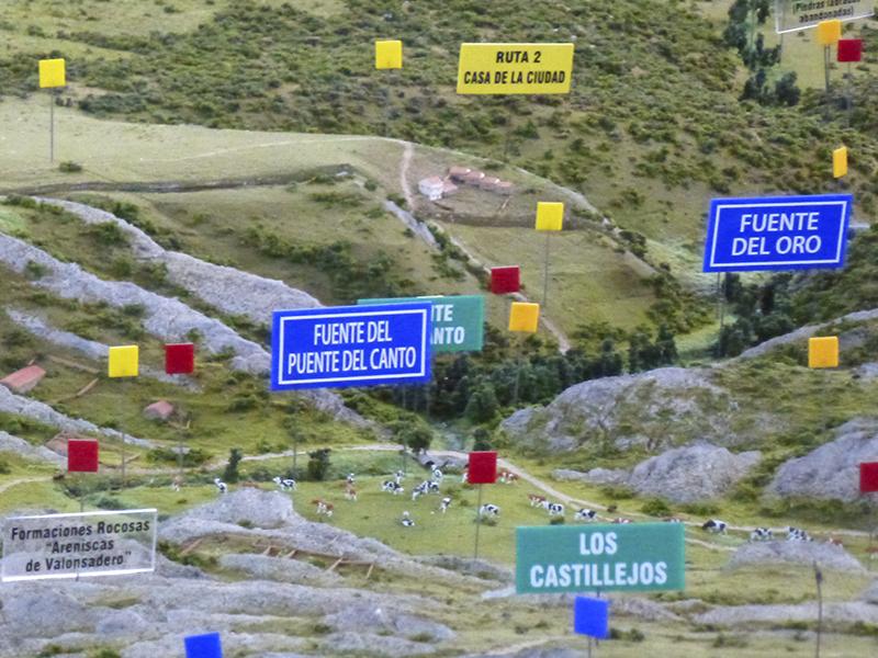 Turismo Soria - Maqueta Valonsadero