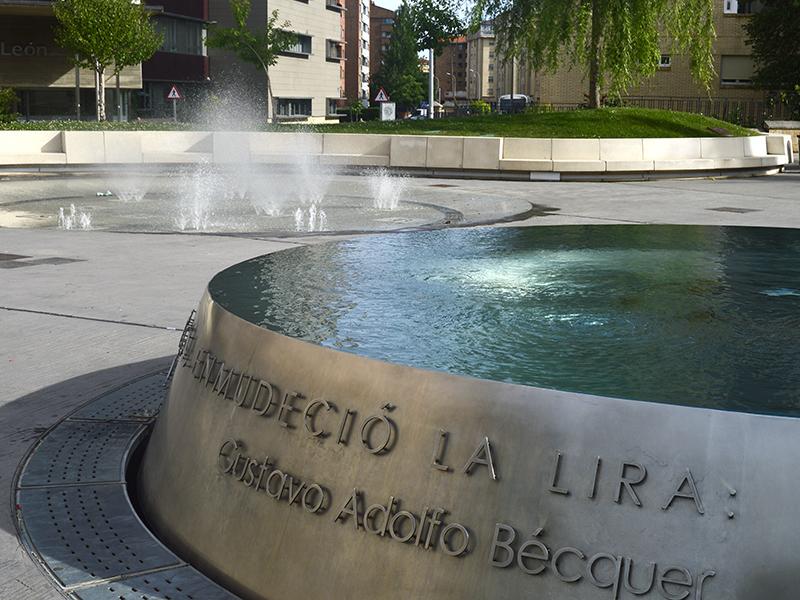 Espacios y fiestas dedicadas a Bécquer en Soria