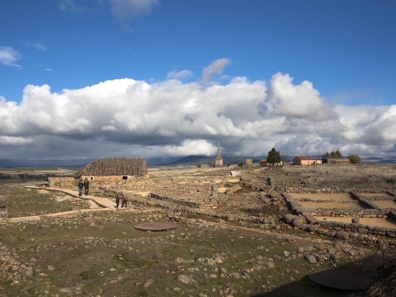 Vistas de Numancia en Garray