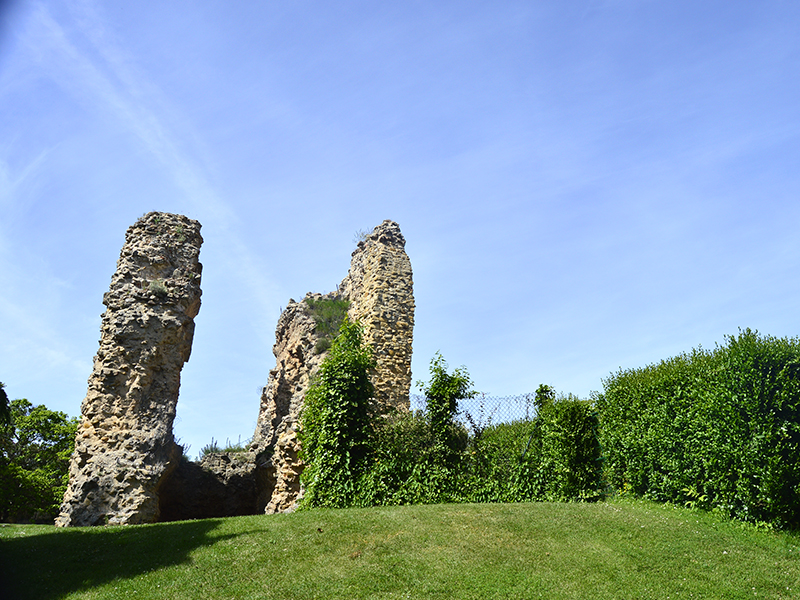 Ruinas torre del homenaje