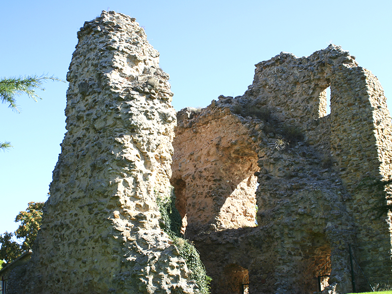Castillo arruinado de Soria