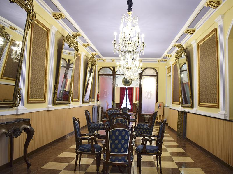 Interiores del edificio