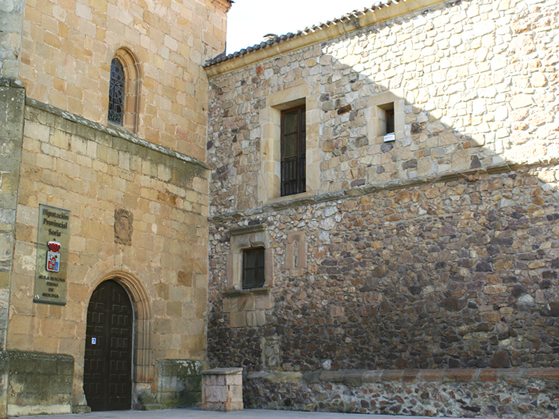 Entrada posterior Aula Tirso de Molina