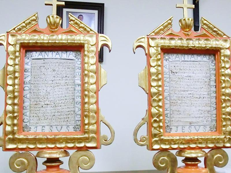 Manuscritos en Convento del Carmen de Soria