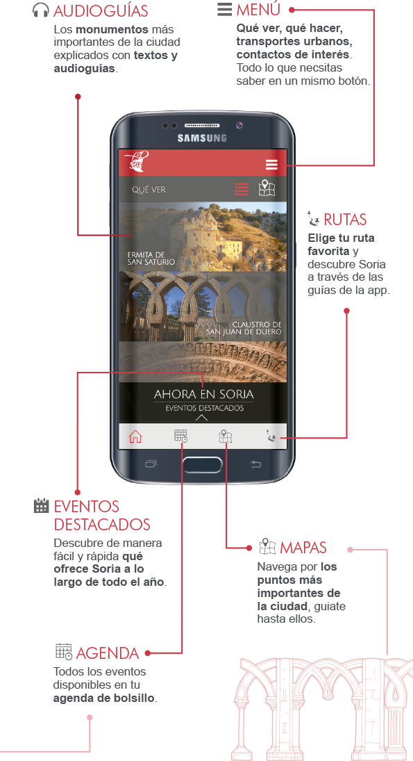 Turismo Soria - Aplicación para movil