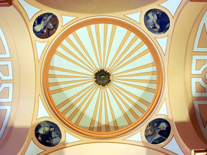 Detalle de la cúpula interna