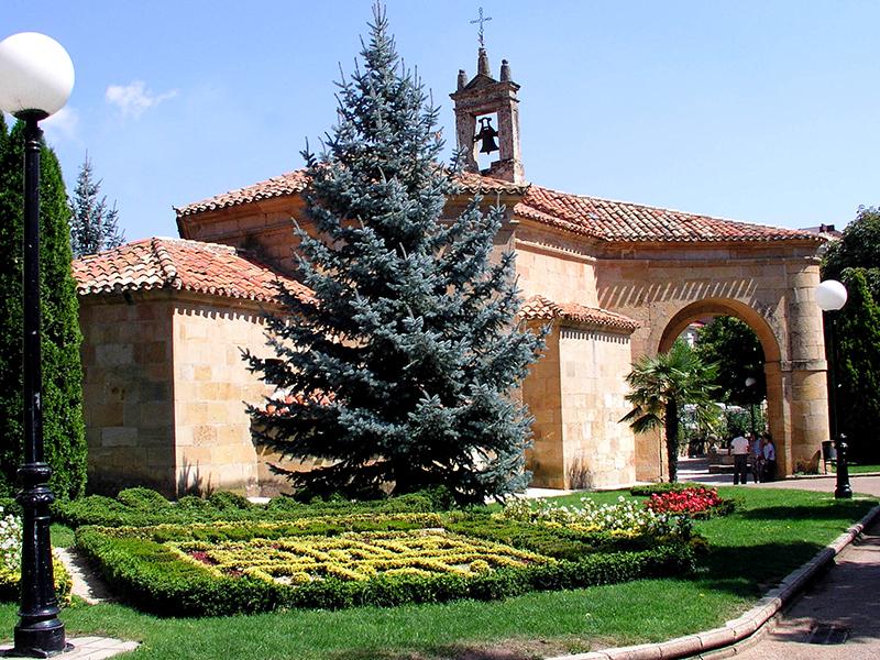 Jardines exteriores Ermita