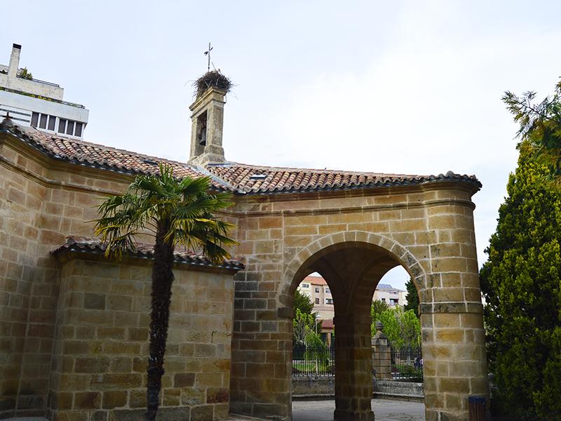 Arco del soportal de entrada