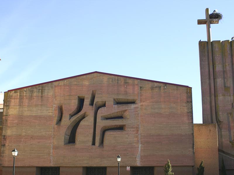 Fachada de la iglesia del Salvador