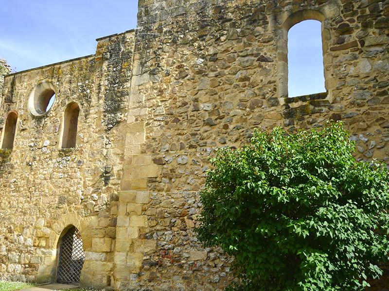 Restos del antiguo convento