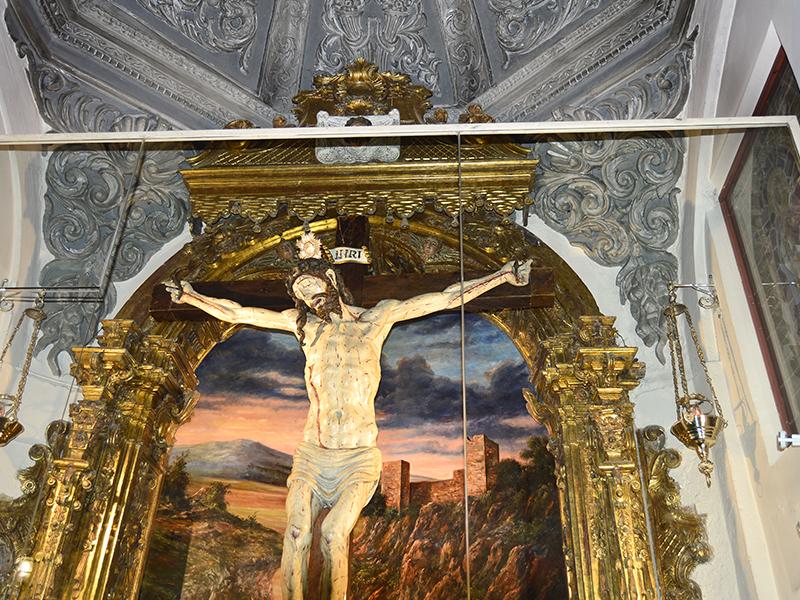 Cristo en el interior de la Ermita