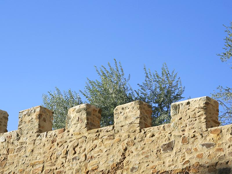 Almenas de la muralla
