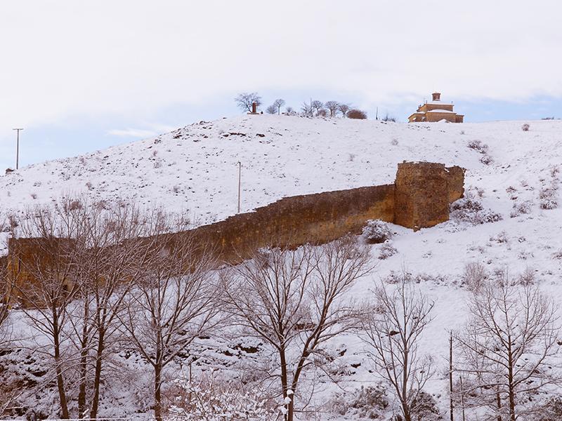 La murallas en invierno
