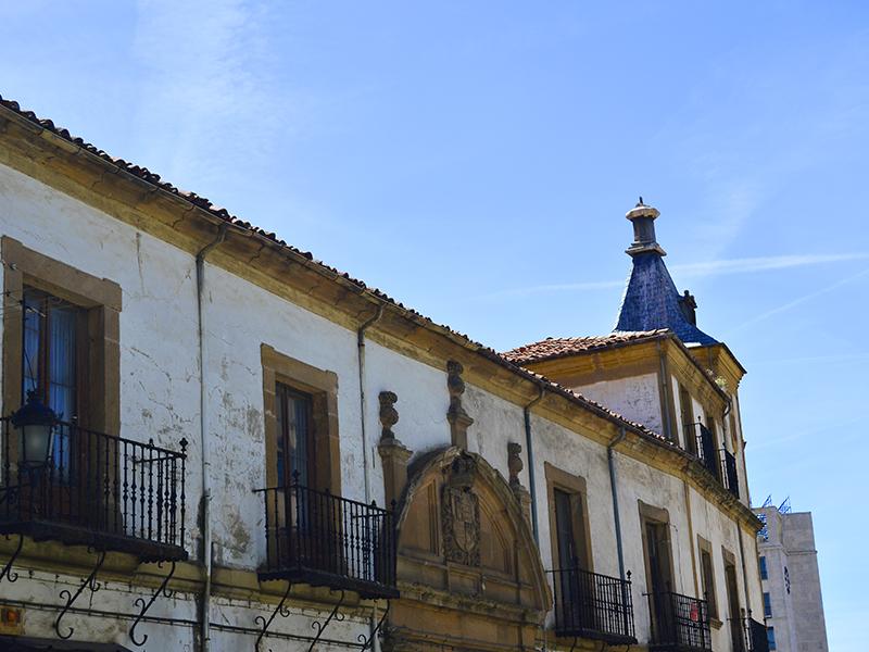 Planta y torre del palacio