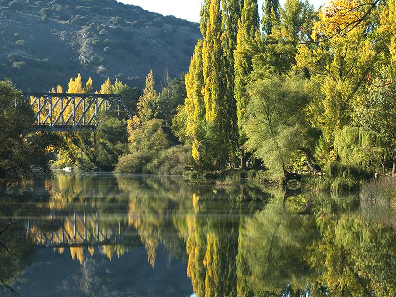Puente de Hierro en otoño