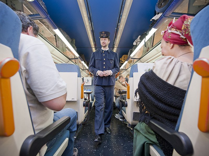 Tren Campos de Castilla a Soria