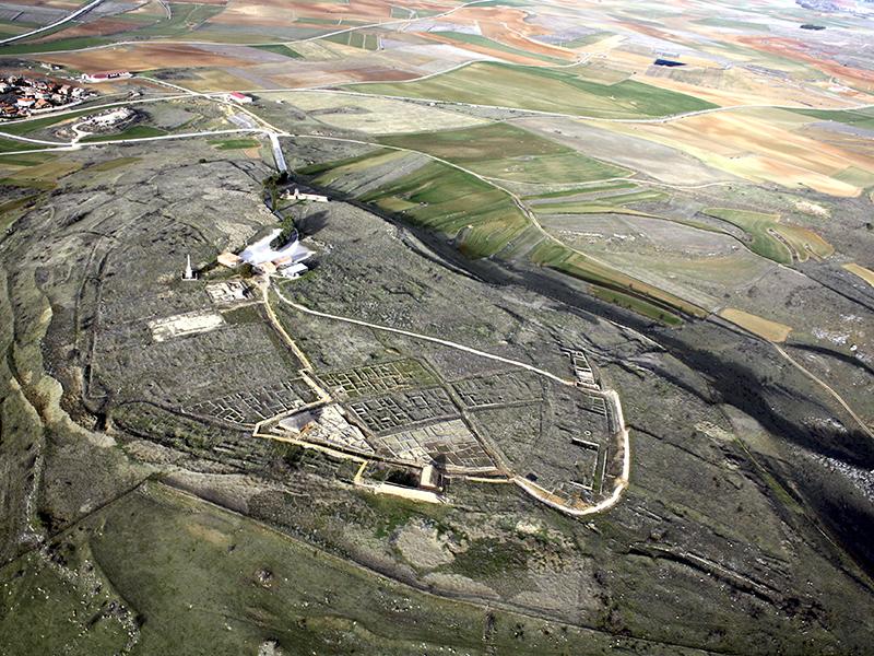 Turismo de Soria - Numancia desde el aire