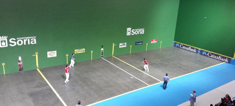 El III Torneo San Saturio Ciudad de Soria acerca a los mejores pelotaris del circuito
