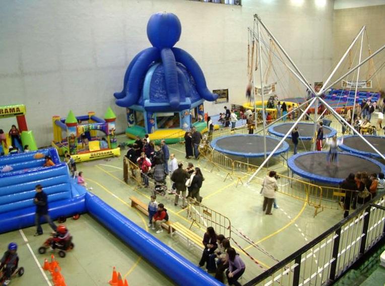 El Salón de Navidad comienza el 23 de diciembre en horario matinal en el polideportivo de San Andrés