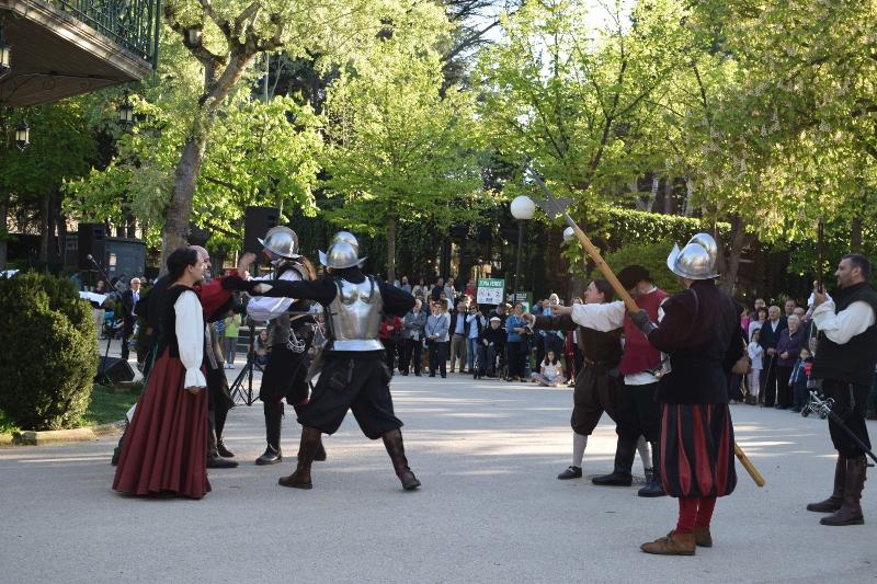 Las recreaciones históricas se consolidan en Soria como un reclamo turístico y tienen nueva cita 'comunera' este lunes en La Dehesa