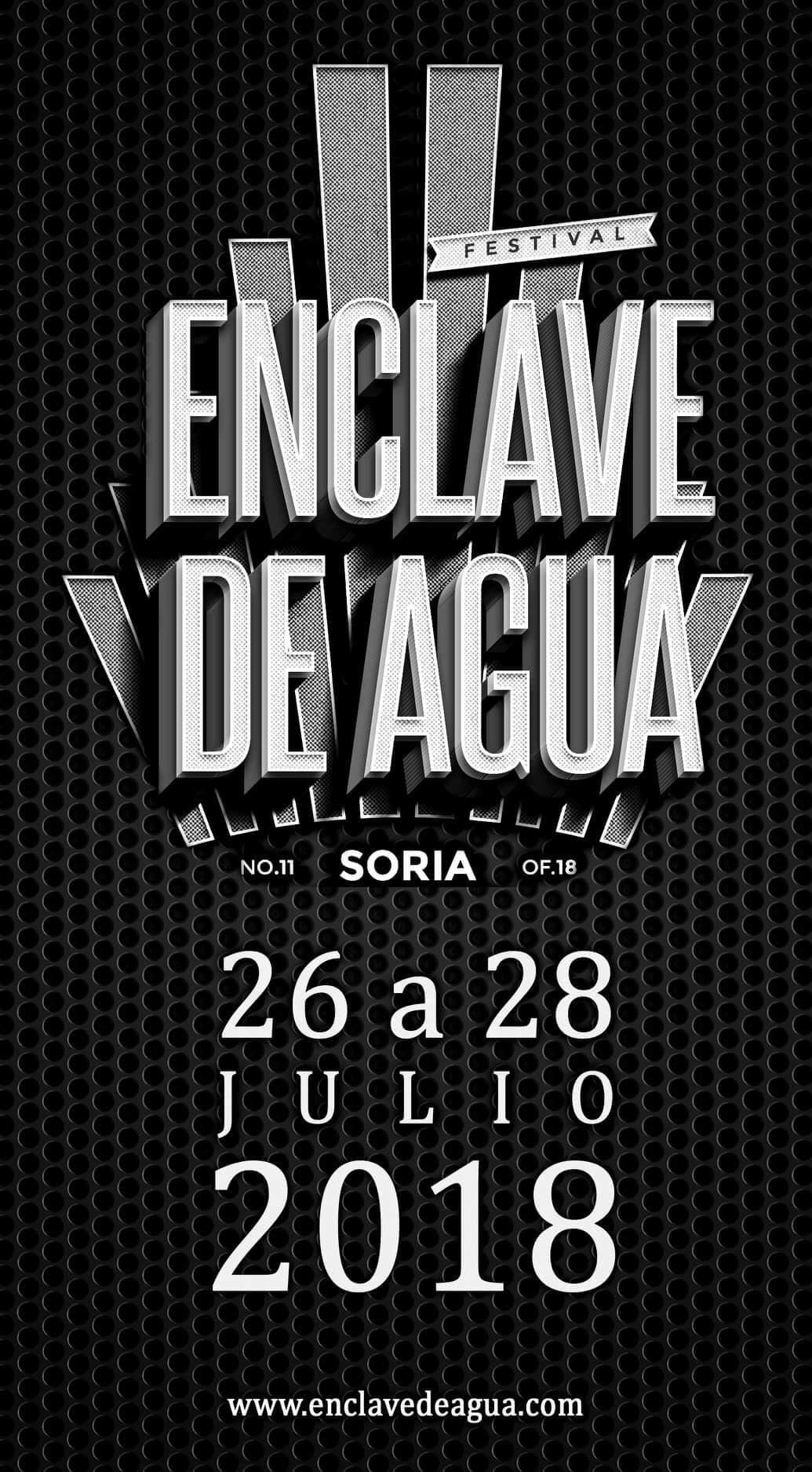 Cartel Enclave de Agua Soria