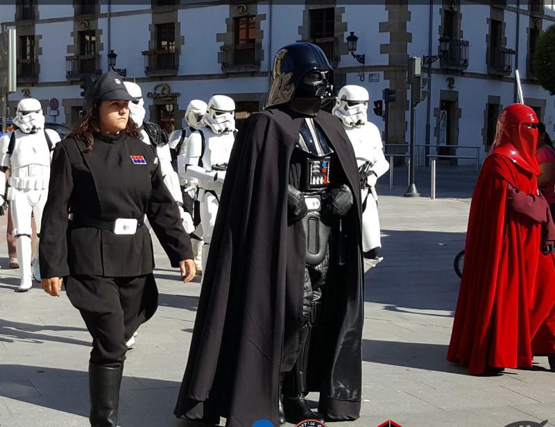 La Legión 501 desfilará el sábado 19 de mayo en Soria y cumplirá su 'misión' solidaria en beneficio de la Asociación de Esclerosis Múltiple