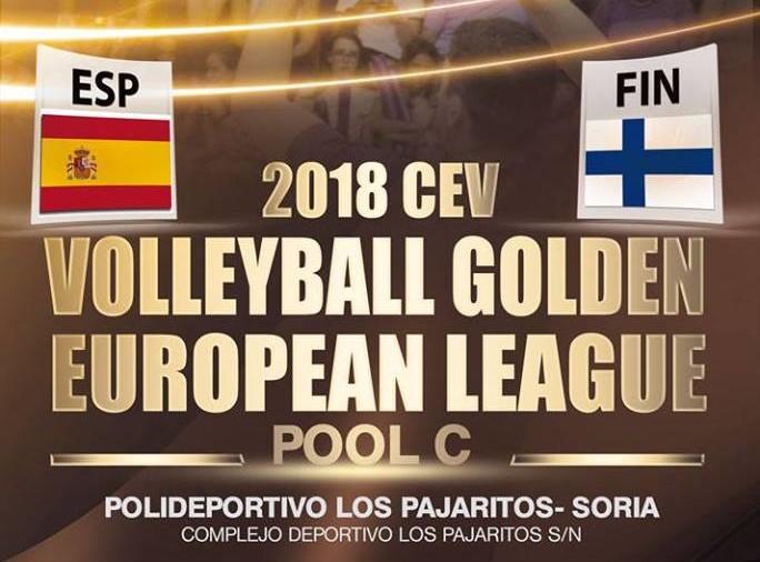 La selección española de voleibol visita este miércoles Los Pajaritos con su partido de la Liga Europea contra Filandia