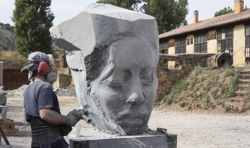 El II Simposium Internacional de Escultura dejará 10 piezas en la ciudad cuya ubicación se decidirá en septiembre