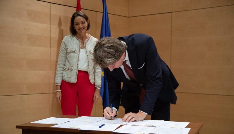 Carlos Martínez rubrica la adhesión de Soria a la red de destinos inteligentes del Ministerio de Turismo