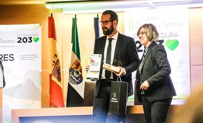 La ciudad de Soria recibe el Premio Nacional 'El anillo Deporte y Turismo'
